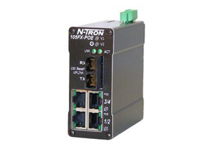 N-TRON™ PoE-serien (Power over Ethernet)