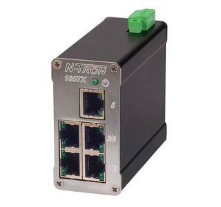 Industriell EthernetSwitch, 5 portar